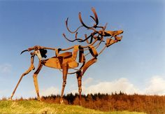 Sculptures From Old Farm Machinery