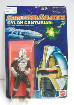 Cylon!!!  Yes... one of the coolest action figures ever!