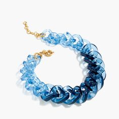 Shop J.Crew for the Squared Lucite link necklace for Women. Find the best selection of Women Jewelry available in-stores and online. Jewelry Accessories, Women Jewelry, Fashion Jewelry, Jewelry Design, Necklace Length Guide, Necklace Lengths, J Crew Jewelry, Jewelry Shop, Diy Jewelry