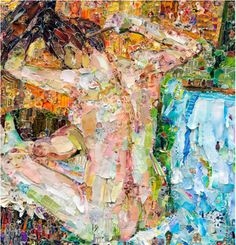 VIK MUNIZ / After the Bath, after Edgar Degas (Pictures of Magazines 2), 2011