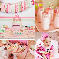LaLa Sparkles! A Whimsical Lalaloopsy Birthday Party - www.lilsugar.com