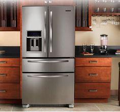 The refrigerator I want! KitchenAid french door KFXS25RYMS