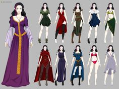 Kerriandra Wardrobe (commission) by Precia-T.deviantart.com on @deviantART
