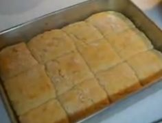 Here they are! Katzcradul's famous square biscuits. If your looking for a heavy, tough biscuit, this is not the recipe for you.  There are light as air and very fluffy. In this video, I show you how to make these delicious biscuits: http://www.youtube.com/watch?v=_3MU69fV_QM
