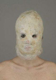 Weird and wonderful mask #art #odd #offthewall