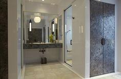 Contemporary Bathroom in Greenwich, CT by Fox-Nahem Associates