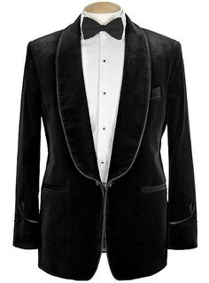 Men's Exclusive Velvet Smoking Jacket by paragonroyalty on Etsy, $350.00