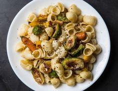 Cacio e Pepe e Roasted Vegetables = The Perfect Bowl of Pasta photo