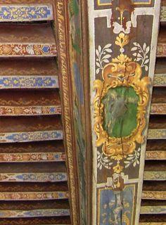 Beautifully painted beams Art Decor, Mural, Painted Beams, Ceiling Design, Painted Ceiling, Wall Painting, Wall Wallpaper, Painted Wood Ceiling, Decorative Painting