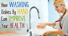 Washing dishes mindfully by focusing on the soap smell, feeling the warm water, and touching the dishes can lead to significant improvements in well-being. http://articles.mercola.com/sites/articles/archive/2015/10/15/washing-dishes-mindfully.aspx