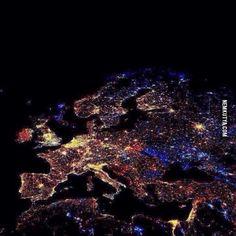 Így nézett ki Európa Szilveszterkor