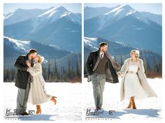 *Real Wedding*Rocky Mountain Wedding*Banff/Canmore Wedding*Photographer*winter wedding*Romantic Wedding*outdoor wedding*vintage wedding*Vermillion Lake*Mount Rundle*Bride and groom portrait*www.kimpayantphotography.com