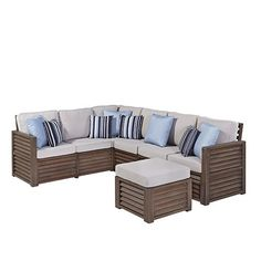 15% off Aged Barnsiding Indoor/Outdoor Sofa via The Beach Look. Use coupon code: Midsummer. Click on the image to see more!