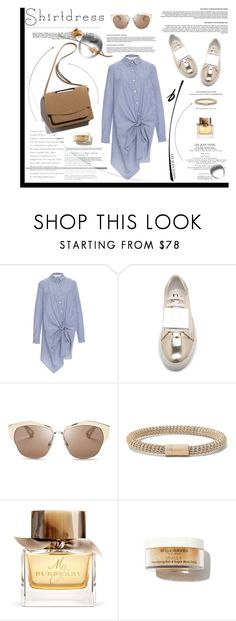"""It's a Shirt! It's a Dress! It's a Shirtdress!"" by krischigo ❤ liked on Polyvore featuring Thakoon Addition, Acne Studios, Christian Dior, Carolina Bucci, Burberry, Whiteley, Louis Vuitton and shirtdress"