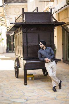 Men's Fashion Urban Sardar Sikh Fashion Surjit Singh - Formals Perfect for Job, Cooler City Style