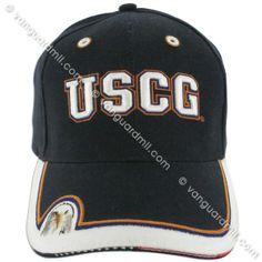 Ball Cap: Coast Guard - eagle blue