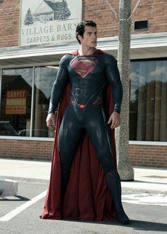 "Counting down to ""Man of Steel"" anniversary. Arte Do Superman, Superman Artwork, Batman Vs Superman, Dc Comics Heroes, Dc Comics Characters, Superman Henry Cavill, Dc Rebirth, Portrait Photography Men, Superman Man Of Steel"
