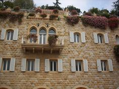 Lebanon, house in Broumana by objectivised, via Flickr