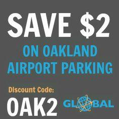 OAK Oakland Airport Parking Coupon