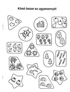 Ovisélet : Nyomtatható feladatlapok Math For Kids, Games For Kids, Diy For Kids, Crafts For Kids, Toddler Activities, Preschool Activities, Dyscalculia, Kindergarten Worksheets, How To Make Paper
