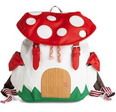This Mushroom House Backpack Is The Cutest Way To Carry Your Stuff