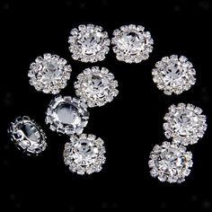 50x 12mm Resin Round Flatback Scrapbooking for Phone//Wedding//Craft Embellishment