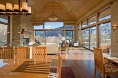 Gorgeous five bedroom Aspen rental home located in Mountain Valley just a few minutes to downtown. Newly constructed, this amazing property features a game room, exercise room, wine room, and spacious bedroom suites. Enjoy gorgeous Aspen Mountain views in a quiet setting so close to downtown Aspen.