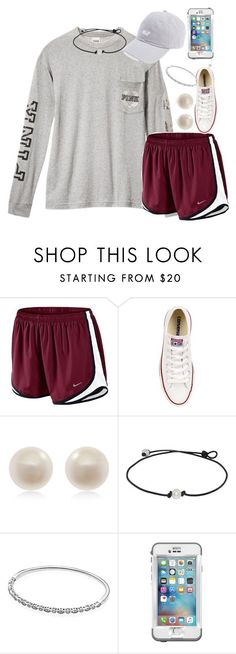"""""""Leavin the island"""" by carolinaprep137 ❤ liked on Polyvore featuring NIKE, Converse, Links of London, Pandora and LifeProof"""