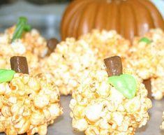 This Simple Pumpkin Recipe Uses Popcorn and Jello #pumpkin trendhunter.com