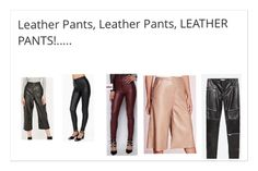 #leatherpants the best #highstreet picks for #Autumn #winter 15. #leather #pleather #trousers #cutlottes #cream #black #oxblood #zips #styles #styleblogger #stylist #personalstyle #personalshopper #fashionista #fashion #fashionfinder #clotheshorse links in bio..