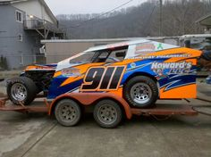 Our newest addition to the family...Shaw by Landers open wheel modified for the 2012 dirt track race season.
