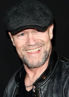 Michael Rooker at the premiere of Triple 9 in Los Angeles on February 16, 2016