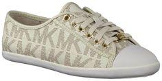 Gebroken-witte Michael Kors Sneakers KRISTY SNEAKER