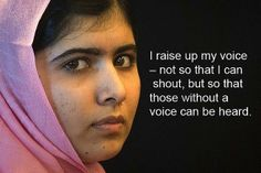 Malala Yousafzai - This is the face of a hero