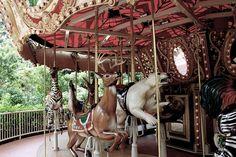 Carousel Animals | Animal carousel | Girly