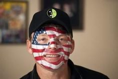 The Gameface Company entrepreneur Doug Marshall pitches the Sharks on his patented, temporary face tattoos designed to replace face painting in episode Temporary Face Tattoos, Game Face, Tattoo Removal, Shark Tank, See On Tv, Tattoo Designs, Halloween Face Makeup, Tv Shows, Usa