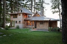 Winkelman Architecture | Portfolio | Maine Residential Architects specializing in custom homes, camps, cabins, cottages, boathouses