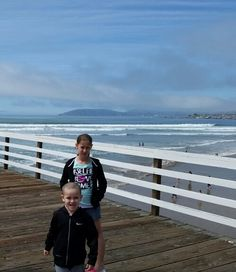 Tanner and sierra beach trip
