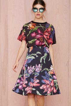 Cameo Rather Be Midi Skirt