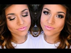 @stefanielin20 nails the eye look in her Rose Gold and Grey Daytime Smokey Eye Tutorial using LORAC's #PROPalette2!