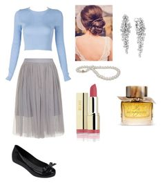 """Grace//1"" by mixtapesmuke ❤ liked on Polyvore featuring beauty, Effy Jewelry, Burberry and Melissa"