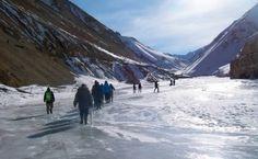 Chadar Trek Frozen River Zanskar Trek 2017 | Thrillophilia