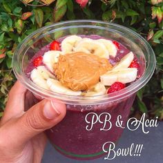 I had a life changing acai bowl today from @iloveayomo  it was life changing because it had a huge dollop of peanut butter on top of it  acai  peanut butter = GIANT FOODGASM  thanks for the recommendation @mark_heap and get your butt down here next time you're in Melbourne  I'd never had an acai bowl before I came to Australia and I think I've had about 30 since being here ... And I've only been here 8 and half weeks  but they're just so yum! Catch ya later guys  #health #healthy…