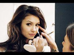 Have you ever seen Nina Dobrev (Elena?) she's STUNNING! So glad I found this! Vampire Diaries - Elena Gilbert Makeup Tutorial