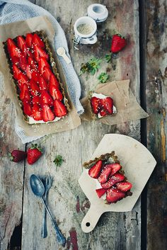 ... strawberry tart ...