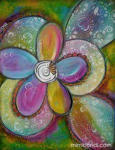 """Flutter By"" by Mimi Bondi"