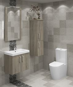 Bardolino Oak Modular Bathroom Furniture On Trend Looks Fantastic Our Stylish