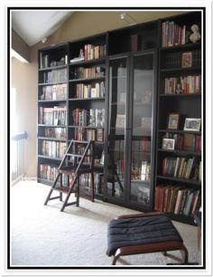 Ikea Hemnes Bookcase Glass Doors
