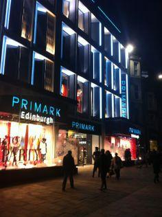Primark in Edinburgh, Edinburgh