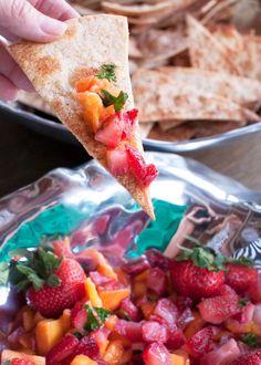 strawberry mango salsa - crave bake joy